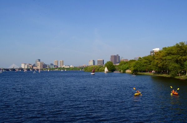 05  Kayaking Charles River Boston