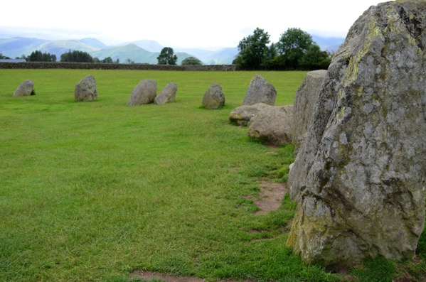 Castlerigg Stone Circle Keswick Lake District UK