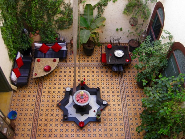 Riad in Marrakesh Morocco